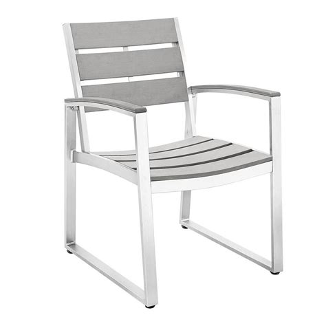 Walker Edison Furniture Company All Weather Grey Patio All Weather Patio Chairs
