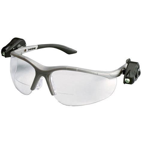safety glasses for led lights 3m light vision2 led bifocal safety glasses with clear