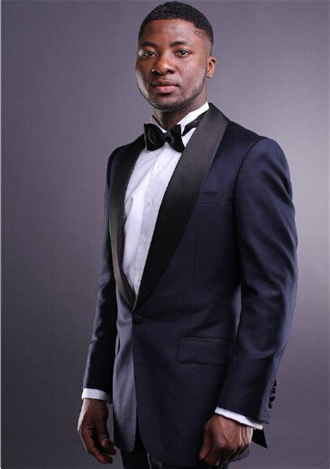 custom made navy blue tuxedo inspired by suit worn in