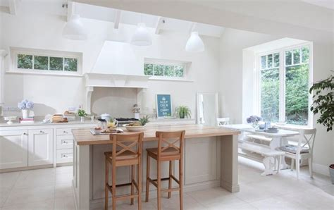 Custom Size Bath Rugs White Trestle Dining Table Transitional Kitchen Farrow Amp Ball Wimborne White Noel Dempsey