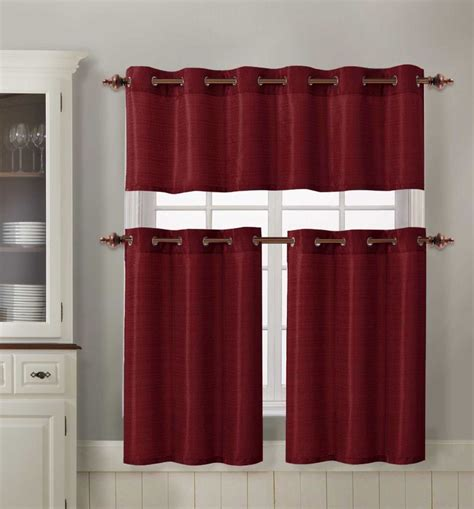 Grommet Kitchen Curtains Grommet Kitchen Curtains 4 3 Kitchen Curtains Grommets Laurensthoughts
