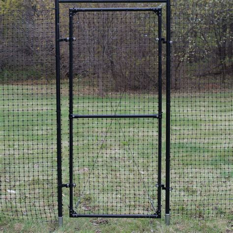 deer fence gate  frame
