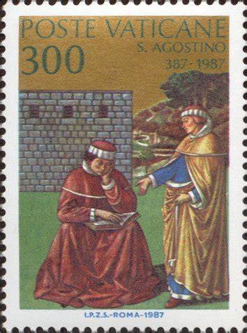 lettere di s agostino dettaglio francobollo catalogo completo dei francobolli