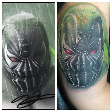 bane tattoo bane by pippo tattoos