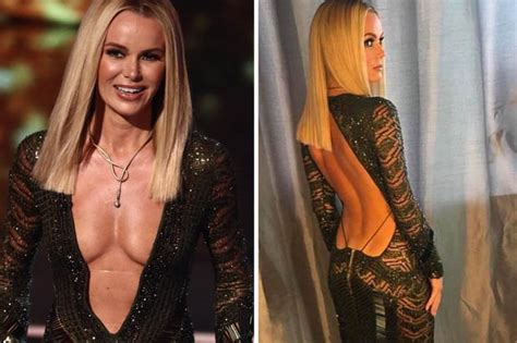 picture of amanda holden amanda holden s revealing through time daily