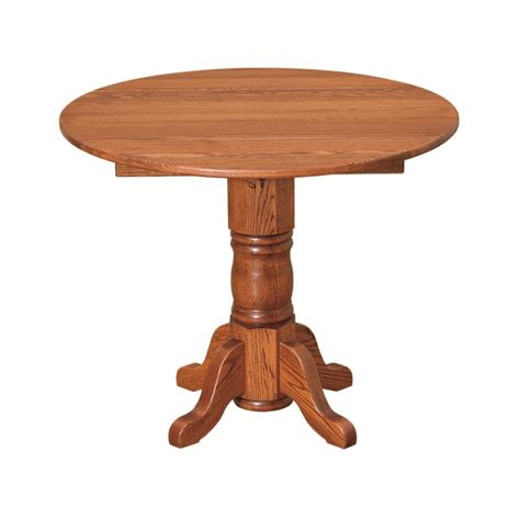Extension Dining Room Tables Amish 36 Quot Round Extension Table Country Lane Furniture
