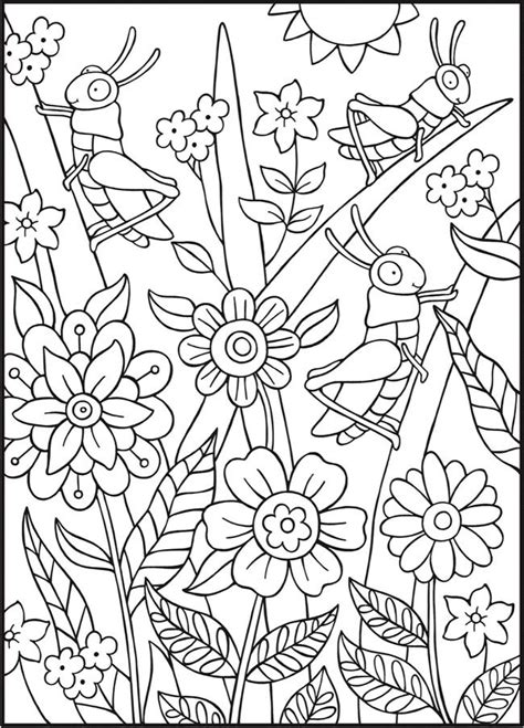 spark bugs coloring book dover coloring books books 523 best coloring images on coloring