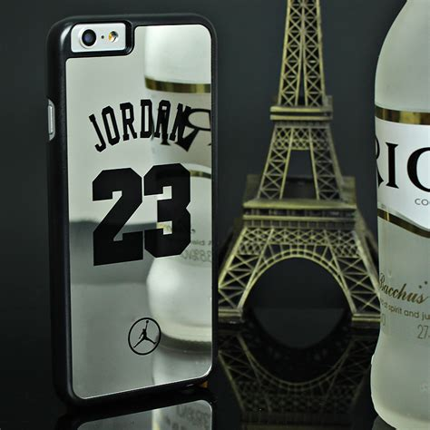 nba brand michael 23 cases for iphone 6 6 puls 5 5s se pc mirror phone cases cover