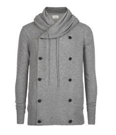 Jaket Sweater Hoodies Kasual Pria Rrl 004 haversack shawl collar breasted sweater 1000sassa