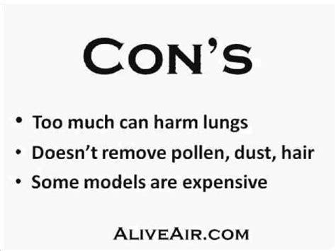 ozone air purifier dangers youtube