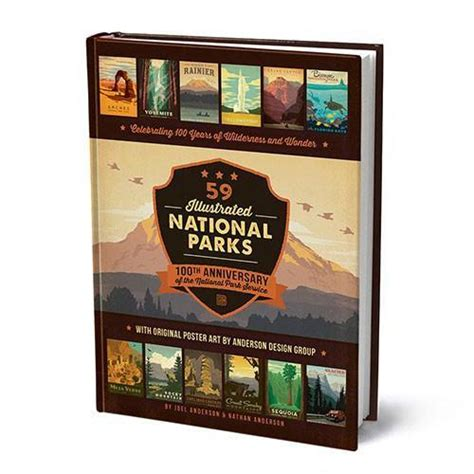 National Parks Coffee Table Book Design Studio Store