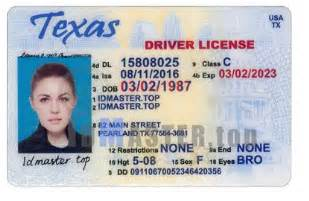 Drivers License Tx Products Tagged With Perforation Idmaste Top Best