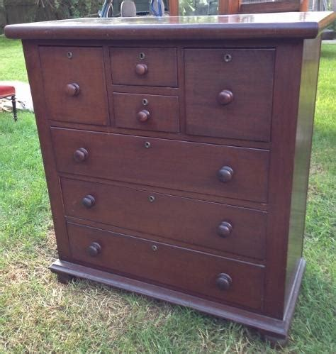 antique australian colonial cedar chest of seven drawers