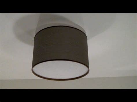 Diy Ceiling Light Cover How To Make A Diy Drum Shade Ceiling Light Cover Camouflage Those Ls Crafty