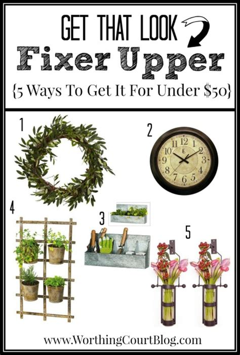 how to get the fixer upper look in your home jenna burger 5 ways to get the fixer upper look for under 50