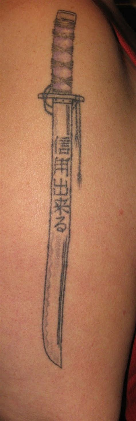 samurai sword tattoo picture collection katana tattoos