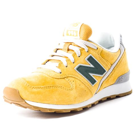 lb shoes new balance wr 996 lb redwood womens suede yellow trainers