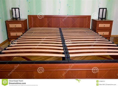wooden slats for bed frame bed with wooden slats for bed frame stock image image