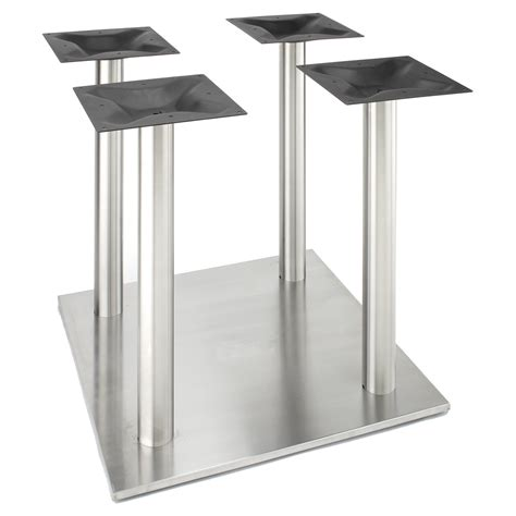 Bar Height Pedestal Table Rsq750x4 Stainless Steel Table Base Rsq Series Table