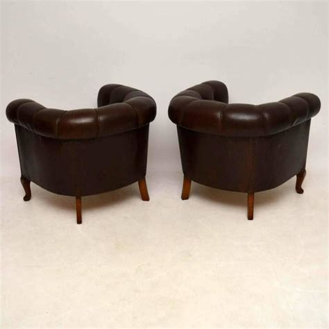 antique leather armchairs for sale pair of antique swedish leather armchairs for sale at 1stdibs