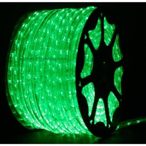green led rope lights 148ft rlwl 148 grn direct lighting com