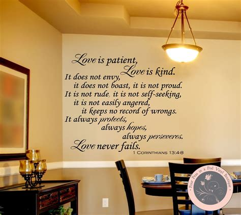 Nursery Quote Wall Stickers bible verse wall decal wall decals for the by