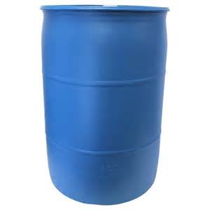 plastic barrels home depot 55 gal blue industrial plastic drum pth0933 the home depot