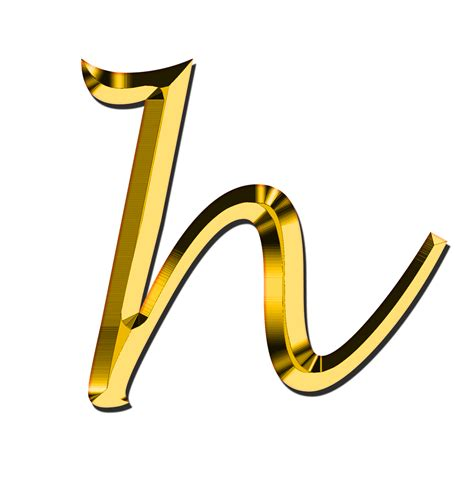 letter h png images free