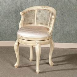 contemporary vanity chairs for bathroom with leather and