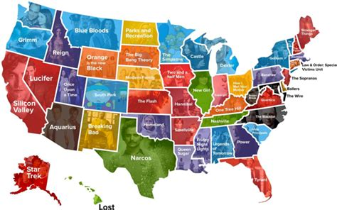 most popular tv shows the most popular tv show in each state mental floss