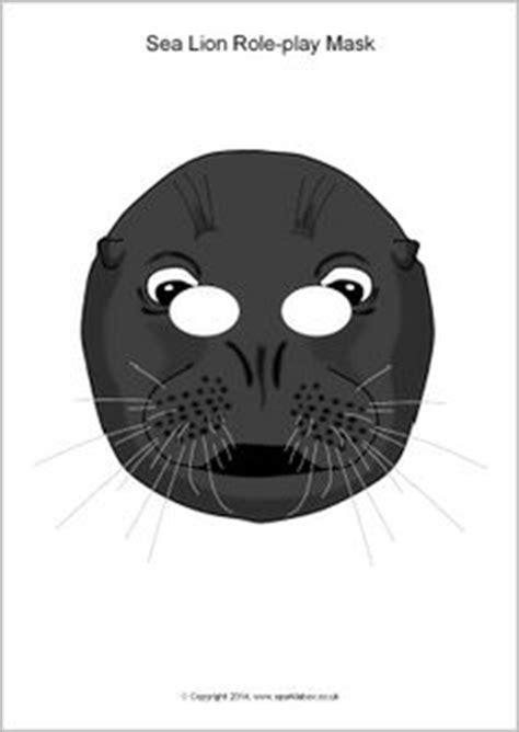printable walrus mask poolgebieden knutselidee 235 n on pinterest 307 pins