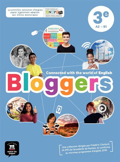 anglais 6e 3e 2012707327 calam 233 o bloggers 3e livre de l 233 l 232 ve