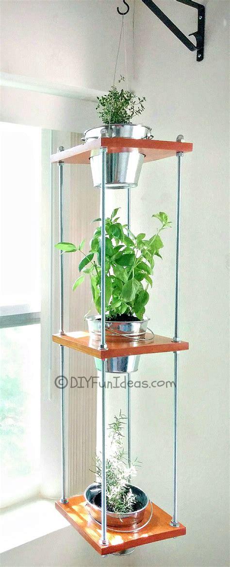 diy hanging herb garden do it yourself fun ideas fun easy diy ideas and