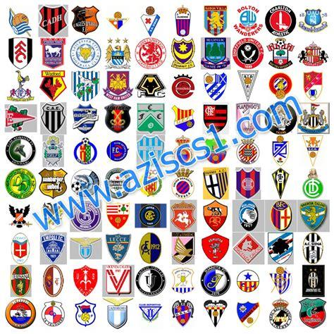 kumpulan logo klub sepakbola liga dunia  lengkap