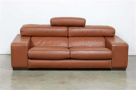 modern and french country furniture by roche bobois roche bobois french modern fregate cognac leather sofa
