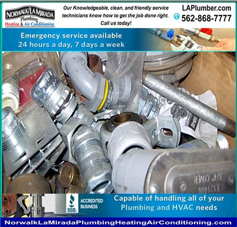 Norwalk La Mirada Plumbing by La Heating And Air Conditioning Norwalk La Mirada