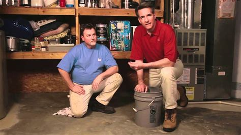 how to clean a basement floor how to clean prep and coat a basement floor