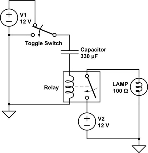capacitor switch questions can i convert a toggle switch to momentary switch using a transistor and capacitor electrical