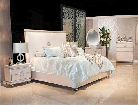 Glimmering Heights Bed by Aico Furniture   Aico Bedroom
