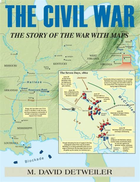 libro maps of war the civil war the story of the war with maps by david m detweiler paperback barnes noble 174