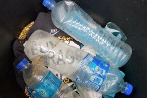 Botol Sedang satu harapan temuan botol air minum sedang diselidiki