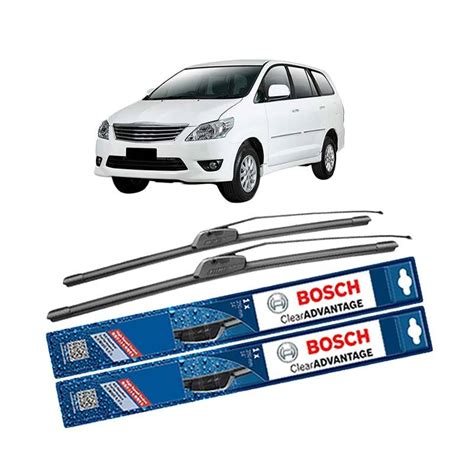 jual bosch new clear advantage frameless wiper for toyota kijang innova 24 dan 16 inch