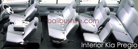 Kia Pregio Interior Hire Kia Pregio 10 Seats Bali Mini Kia Pregio 10