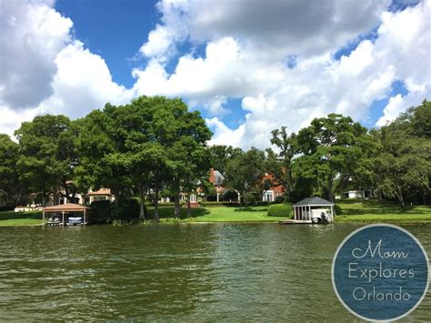 winter park boat tour youtube orlando staycation a family weekend mom explores orlando