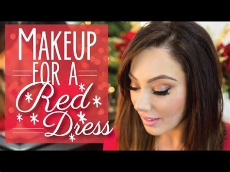 what looks good with red makeup for a red dress makeup geek youtube