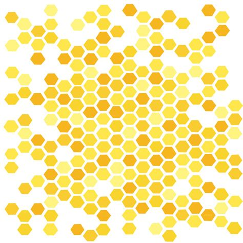 background pattern hive beehive pattern by friztin art print by friztin society6