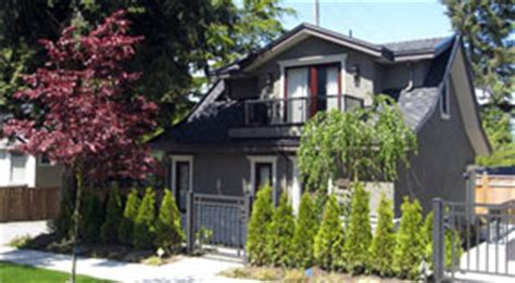 Coach House Floor Plans by Laneway Houses City Of Vancouver
