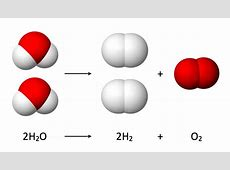 Ontleding van water - Wikipedia Hydrolysis Diagram For Kids