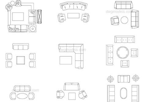 living room layout autocad blocks furniture living room 2 dwg free cad blocks download