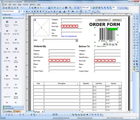 forms design software electronic form design form printing form filling data dissemination vc visualization